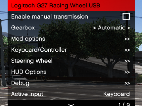 Manual Transmission & Steering Wheel Support v4.6.7