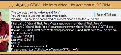 GTAV No intro video v1.0.2 FINAL
