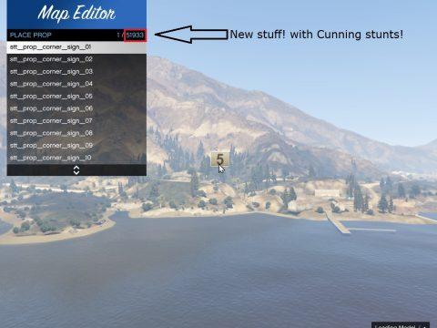 50K Object List + Cunning Stunts 1.0