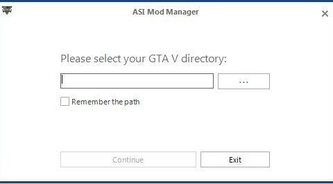 ASI Mod Manager 1.1