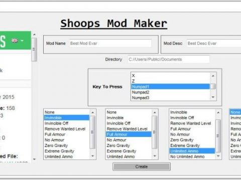 Shoop's Easy LUA Mod Maker (No Coding) 1.1