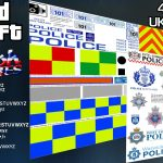 UK Police/Emergency Service Texture Templates 0.7