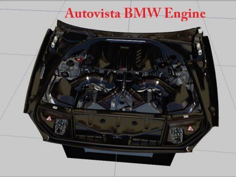 Forza Motorsport 4 Autovista BMW Engine [ZModeler3 Resource] 1.0