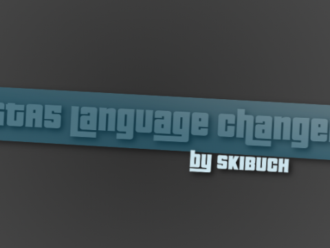 GTA 5 Language Changer (All 12 languages) 2.1