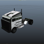Hauler2 and Large Trailer UV Map Template [UNLOCKED] 1.0
