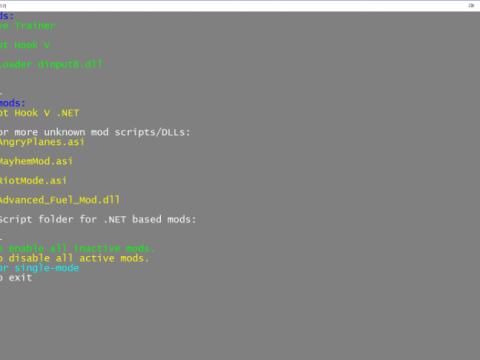 [Batch script] Lightweight Mod Switcher v1.5.1