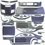M3 GTR UV Template
