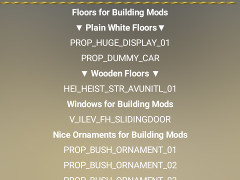 Map Editor Object Names App 3.1