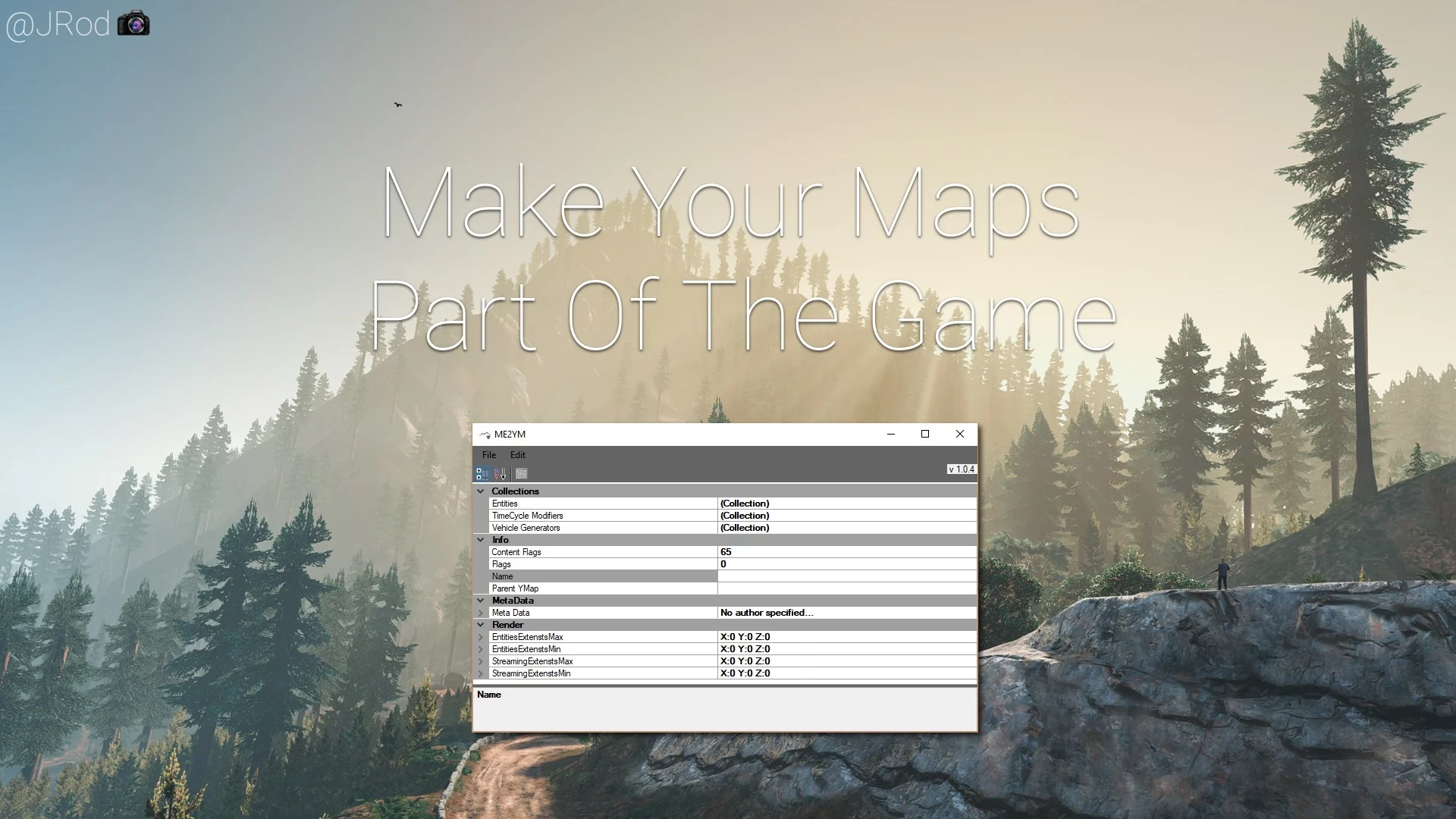 Map Editor & Menyoo to YMap Converter 1.0.4