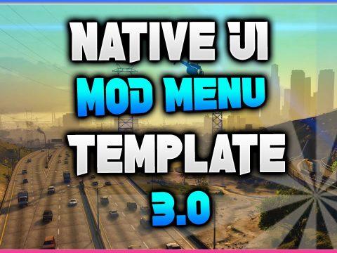 Native UI Mod Menu Template 3.0