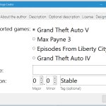 OpenIV Package Creator / OIV 2.0 Creator 1.02