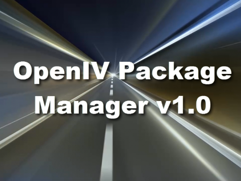 OpenIV Package Manager 1.0