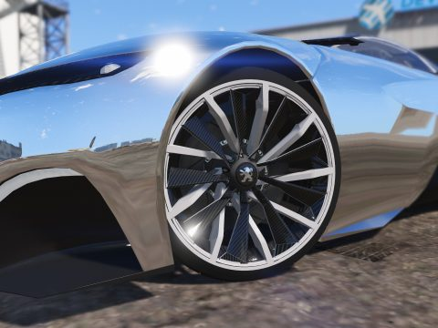 Peugeot Onyx Wheels [ZModeler3 Resource] 1.0