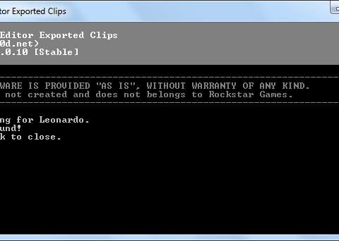 Rockstar Editor Exported Clips 1.0.10