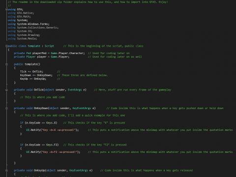 Script Template 1.0