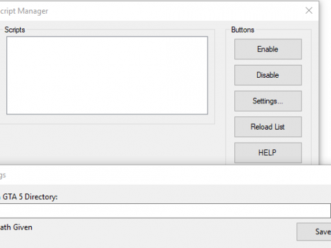 Scripts Manager 1.0.3.2
