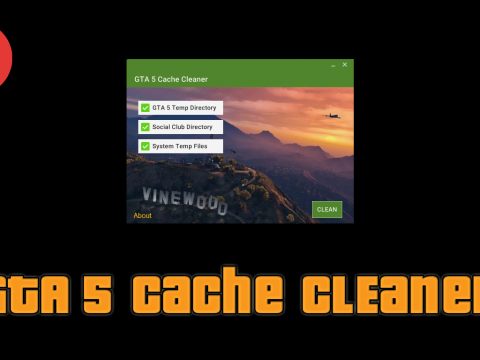 Simple Cache Cleaner for GTA V 1.2