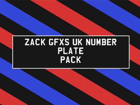 UK Plates Template - Front and Back (PSD) (GB) 1.0