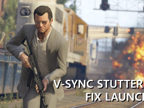 V-Sync Stuttering Fix Launcher 2.01b