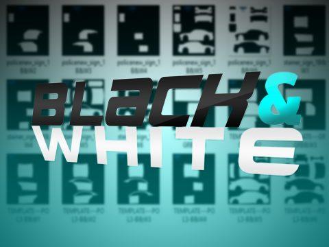 Black & White Template Pack 0.1