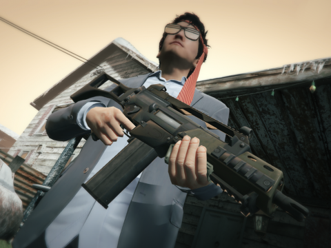 Battlefield 4: G36C