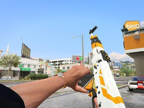 AK47 & AWP - Asiimov Edition
