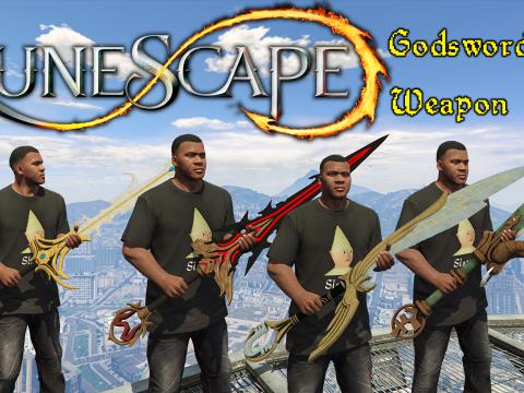 Runescape Weapon Mod - Godsword Set