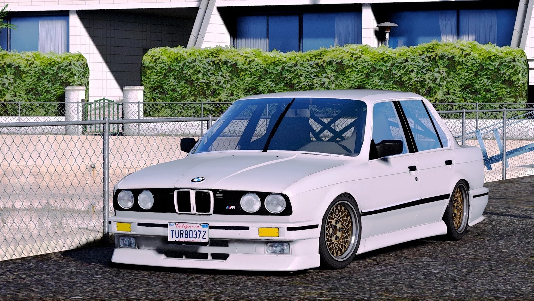 1986 Bmw 325e E30 Pfl 2in1 Add On Replace Tuning Extras 1 0 Gta5mod Net