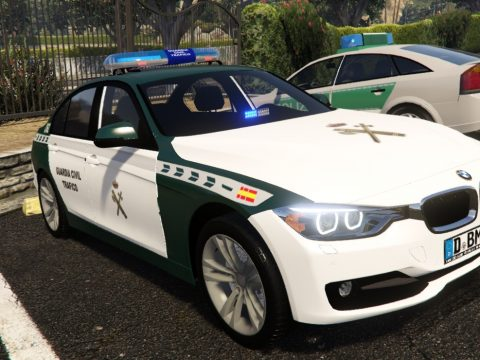 2012 BMW Serie 3 F30 Guardia Civil Trafico Spain police BMW F30 [Replace-ELS] 1.0