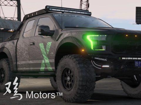 2017 Ford Raptor Scorpio [Add-On | Extras | Dirtmap | Template] 1.0