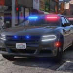 2018 Dodge Charger - Los Santos Police Department (LSPD / LAPD) - Unmarked (ELS) 1.2S