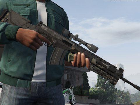 IMBEL IA2 - Call of Duty Ghosts Marksman Rifle 0.1