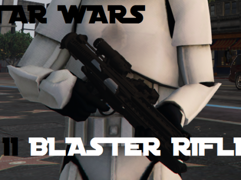 Star Wars E11 Blaster Rifle 2.0