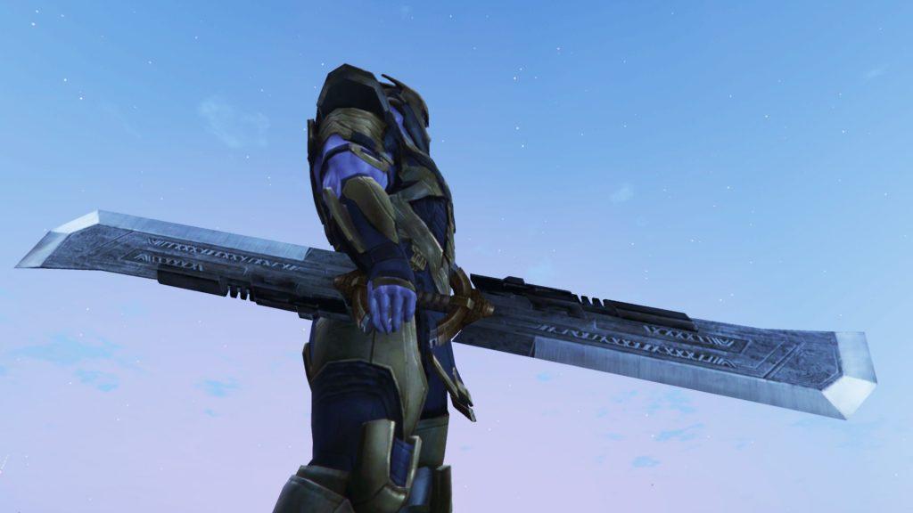 Thanos Double-Edged Sword (Avengers Endgame) 1.0
