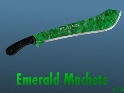 Emerald Machete 1.0