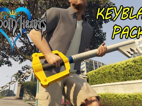 Kingdom Hearts Keyblade Pack 1.0