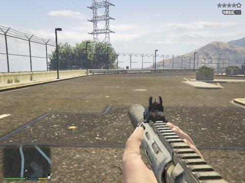 Honey Badger [Call of Duty Ghosts] v1.0