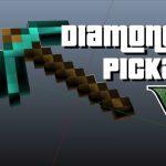 Minecraft Diamond Pickaxe V 1.1