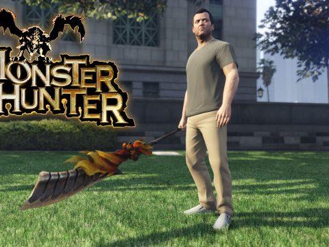 Monster Hunter: Demonlord Halberd