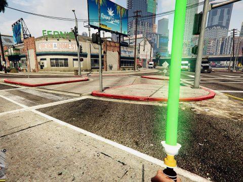 Star Wars Toy Light Saber