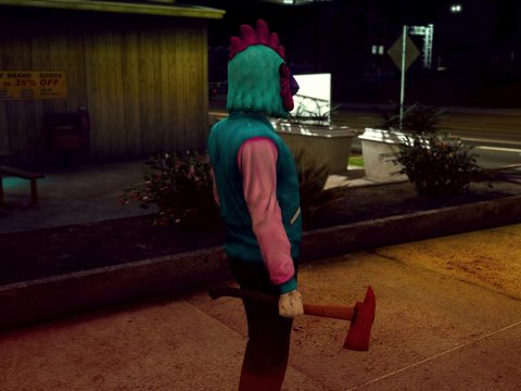 Hotline Miami Melee Weapons Pack 1.05