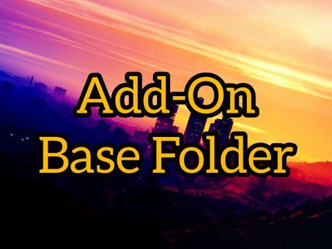 Add-On Vehicles | Peds Base Folder 1.0