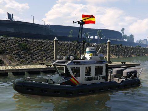 Barco Guardia Civil [Remplace] 1.0