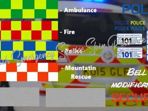 British Emergency Service Skin Resource Pack 1.2