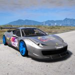 Drift Ferrari 458 Liberty Walk [TEMPLATE]