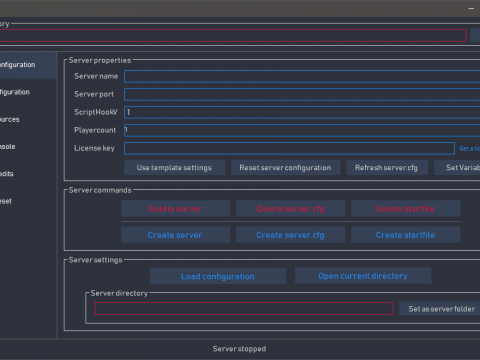 5Manager | FiveM Server Manager 1.0.3