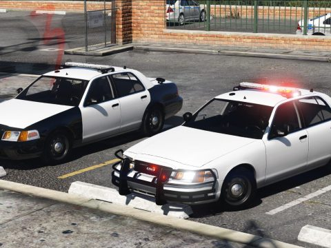 Ford Crown Victoria Police Interceptor '2010 [Replace | AO | Template] 1.0.1509