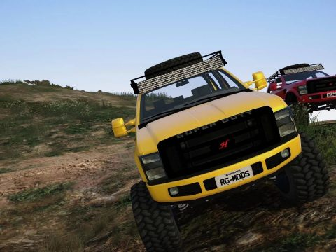 Ford F-350 Trilha Superduty [Replace] v1