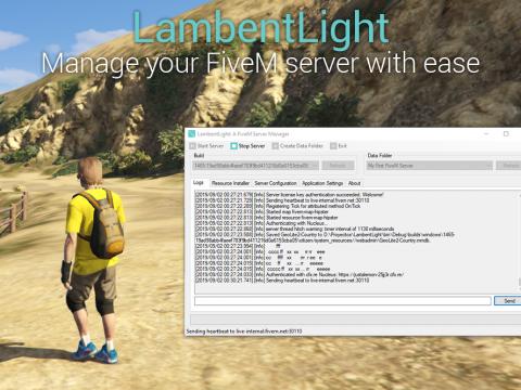 LambentLight (Server Manager for FiveM) 1.0