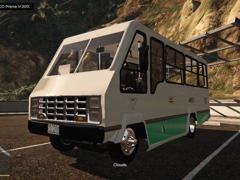 Microbus Chevrolet Alfa 1991 [ Add-on | Template ] 0.1